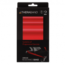 [THERABAND] 세라밴드 개인용 2m (레벨2 레드)